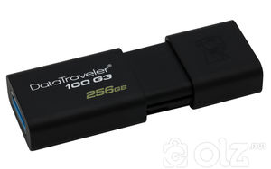 Kingston 256G DT100G3 Flash USB3.0